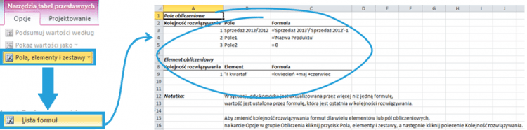 Tworzenie raportu tabeli przestawnej wexcelu2_15