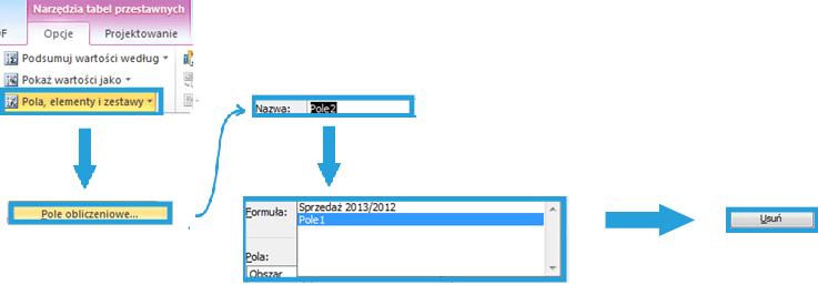 Tworzenie raportu tabeli przestawnej wexcelu2_7