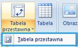 Tworzenie raportu tabeli przestawnej wexcelu3