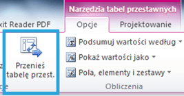 Tworzenie raportu tabeli przestawnej wExcelu 4_10