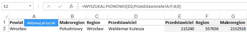 Mapa Polski Excel - Jak zbudować hierarchiczny podział geograficzny 7