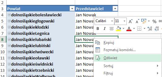 Mapa Polski Excel - Jak zbudować podział geograficzny zwykorzystaniem kodów pocztowych 5
