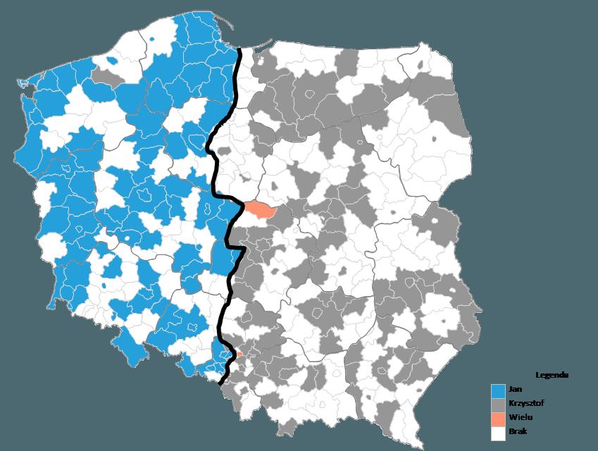 Mapa Polski Excel - Jak zmienić kolory na mapie 5
