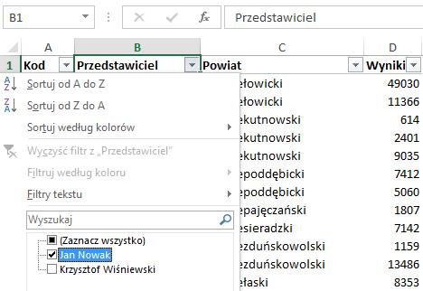 Mapa Polski Excel - Jak zwizualizować dane wpodziale administracyjnym nabazie kodów pocztowych 3