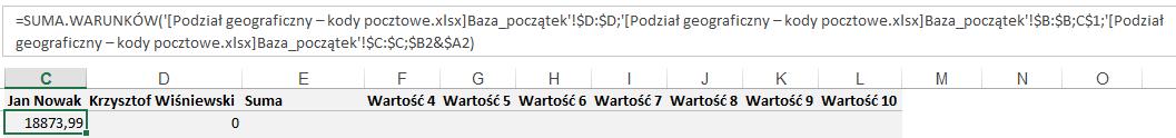 Mapa Polski Excel - Jak zwizualizować dane wpodziale administracyjnym nabazie kodów pocztowych 6