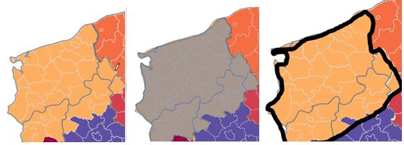 Mapa Polski Excel - tworzenie podziału geograficznego 10