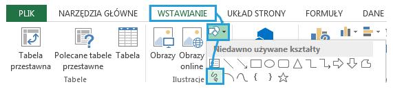Mapa Polski Excel - tworzenie podziału geograficznego 9