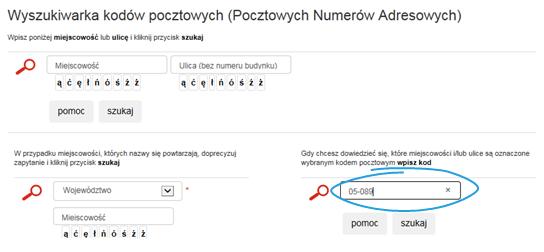 Mapa Polski Excel – Jak uzupełnić nieznalezione kody pocztowe 4