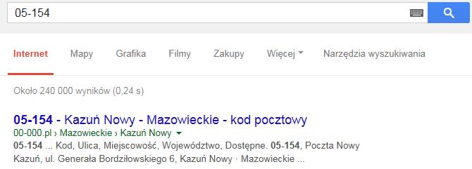 Mapa Polski Excel – Jak uzupełnić nieznalezione kody pocztowe 8