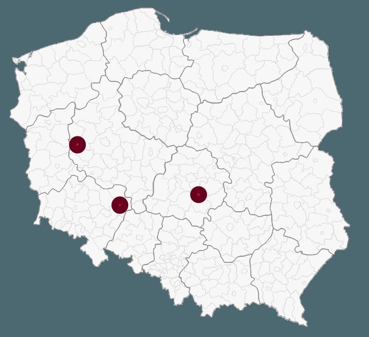 Mapa Polski Excel - Jak narysować zasięg nawykresie bąbelkowym 6