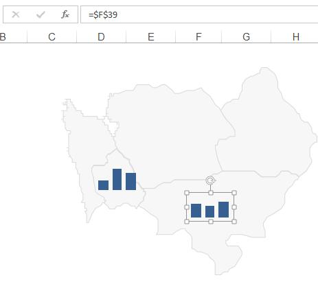 Mapa Polski Excel – Jak utworzyć kartodiagram kolumnowy zminiwykresów 10