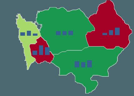 Mapa Polski Excel – Jak utworzyć kartodiagram kolumnowy zminiwykresów 12