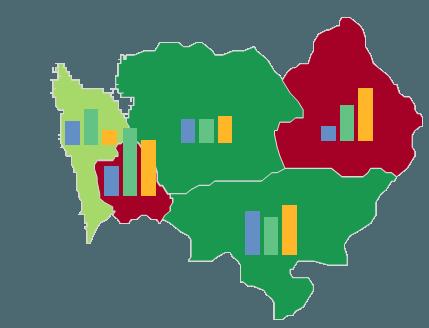 Mapa Polski Excel – Jak utworzyć kartodiagram kolumnowy zużyciem formatowania warunkowego 8