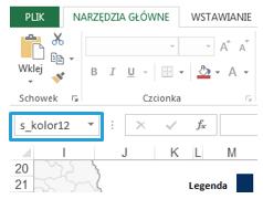 Mapa Polski Excel - Jak zwiększyć liczbę przedziałów kartogramu 3.