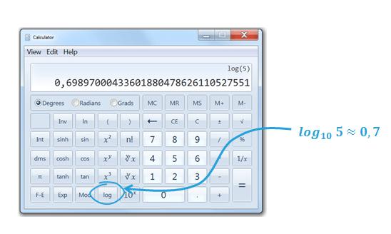 Stosowanie skali logarytmicznej na wykresie_kalkulator