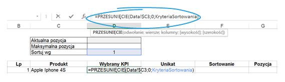 Dashboard zKPI- przewijaj isortuj zapomocą jednego kliknięcia_6