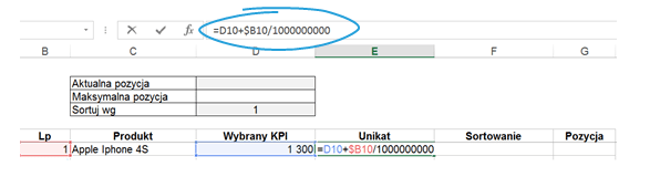 Dashboard zKPI- przewijaj isortuj zapomocą jednego kliknięcia_7