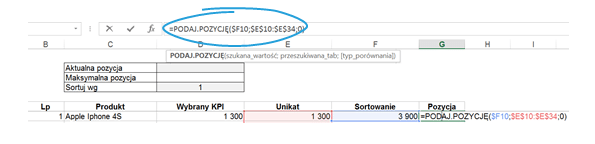 Dashboard zKPI- przewijaj isortuj zapomocą jednego kliknięcia_9
