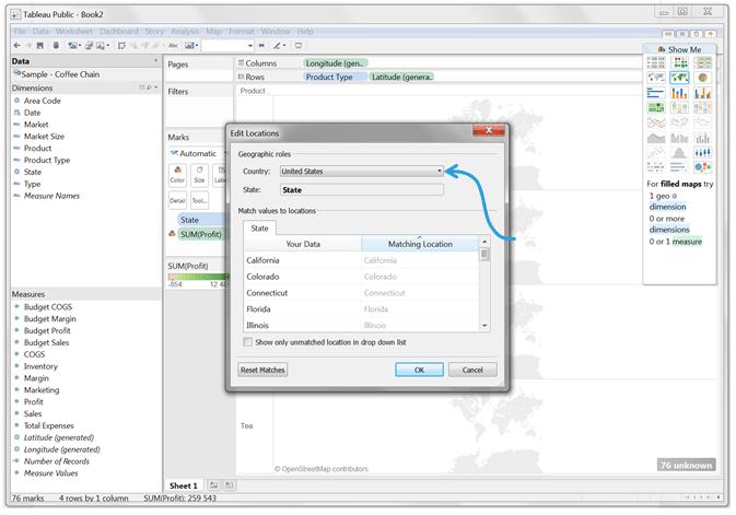 Mapy wTableau – dwa sposoby naefektywne prezentowanie danych_10