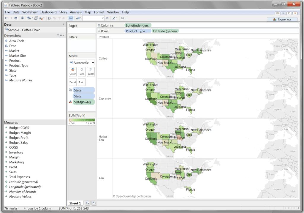 Mapy wTableau – dwa sposoby naefektywne prezentowanie danych_11