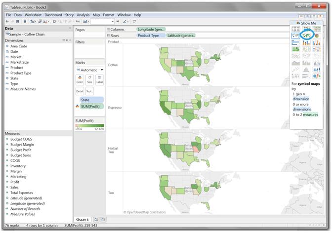 Mapy wTableau – dwa sposoby naefektywne prezentowanie danych_5