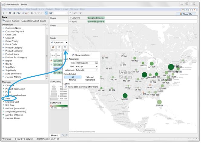 Mapy wTableau – dwa sposoby naefektywne prezentowanie danych_z