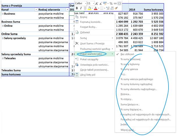 Tabela i wykres przestawny – alternatywny sposób prezentowania danych_16