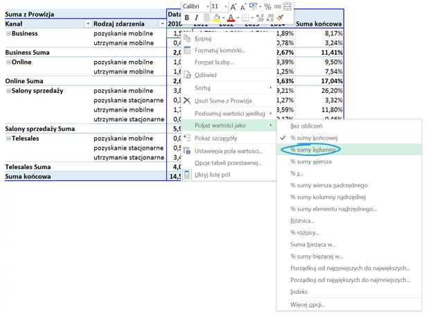 Tabela i wykres przestawny – alternatywny sposób prezentowania danych_28