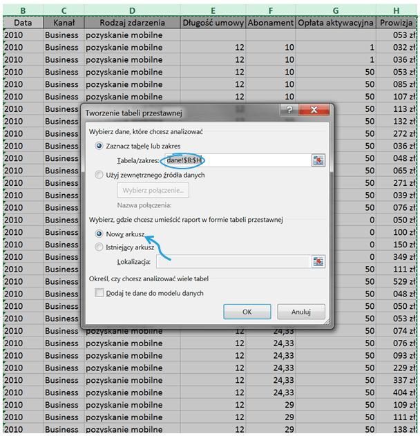 Tabela iwykres przestawny – alternatywny sposób prezentowania danych_4