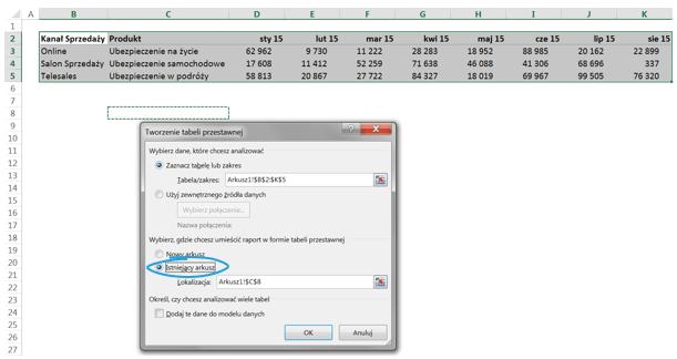 Depivot Data - automatyzacja zmiany układu danych dotabeli przestawnej 4