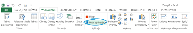 Aplikacje dla Excel 2013_10