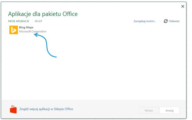 Aplikacje dla Excel 2013_11