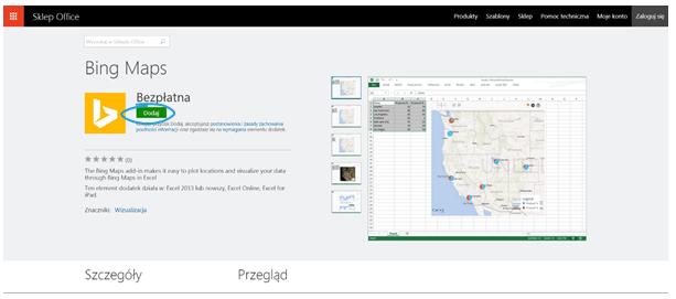 Aplikacje dla Excel 2013_4