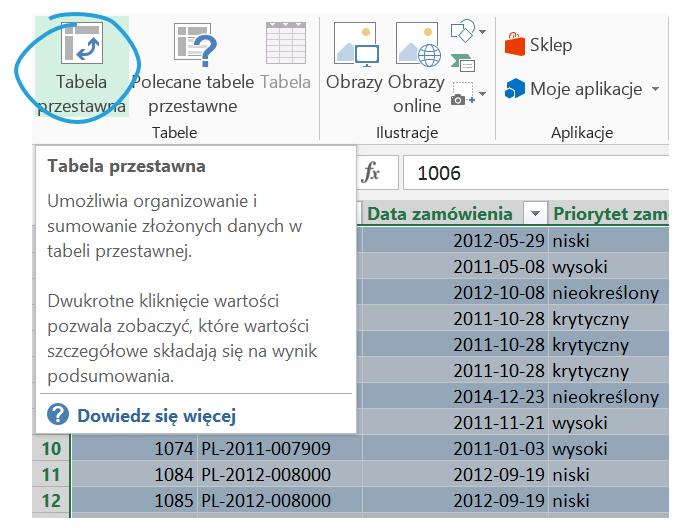 Dashboard analityczny wExcelu krok pokroku (cz.2 ) - wykres przestawny kolumnowo- liniowy_2